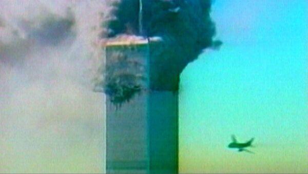 Террористический акт в Нью-Йорке 11 сентября 2001 года. Кадры из архива - Sputnik Латвия