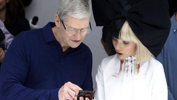 Korporācijas Apple Inc vadītājs Tims Kuks - Sputnik Latvija