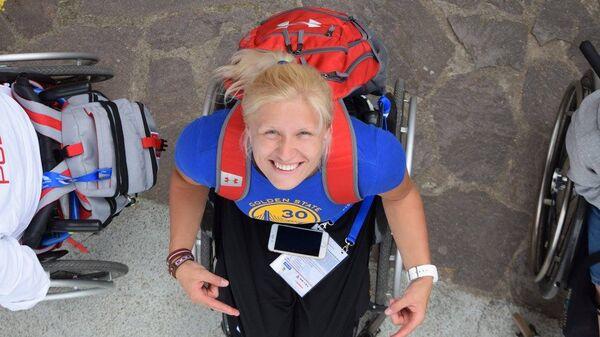 Диана Дадзите, золотая медаль на Паралимпийских играх - Sputnik Латвия