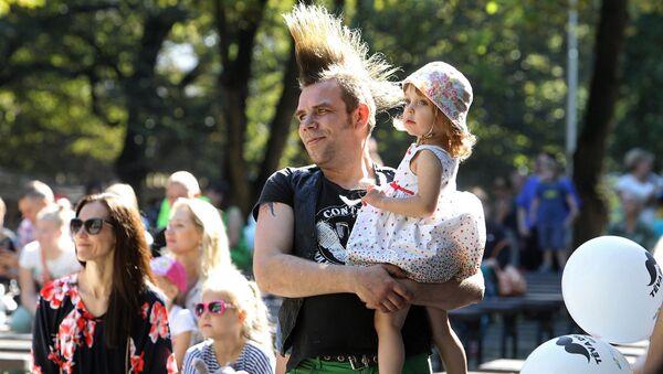 Празднование Дня отца в Риге - Sputnik Латвия