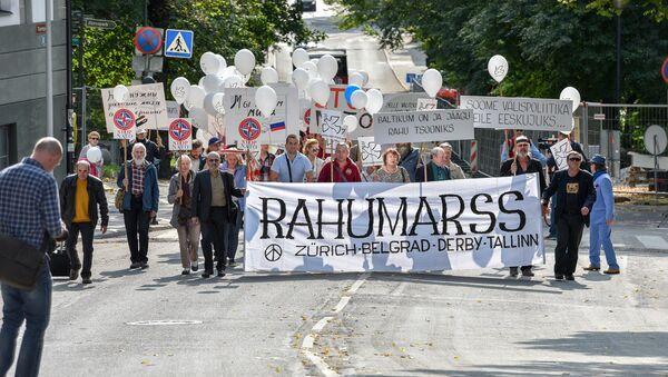 Марш мира в Таллинне. - Sputnik Латвия