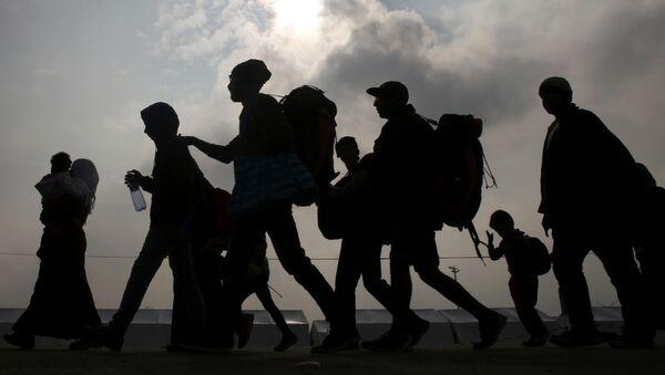 Беженцы в Европе, архивное фото - Sputnik Latvija