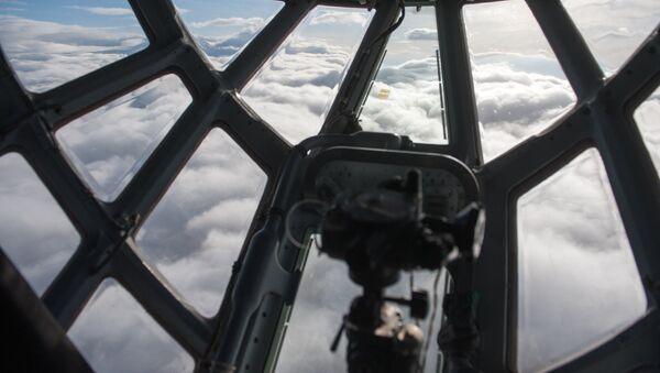 Нижняя кабина самолета ИЛ-76 - Sputnik Latvija