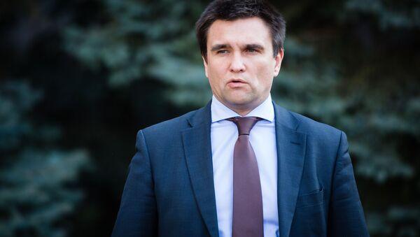 Глава МИД Украины Павел Климкин - Sputnik Латвия