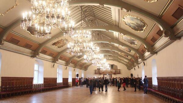 Реконструированный Рижский замок - Sputnik Латвия