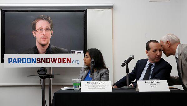 Видеоконференция с Эдвардом Сноуденом - Sputnik Latvija