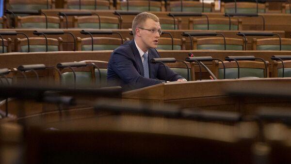 Депутат Сейма Латвии Андрей Элксниньш - Sputnik Latvija