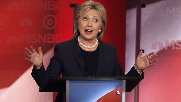 Теледебаты с участием Хиллари Клинтон - Sputnik Latvija