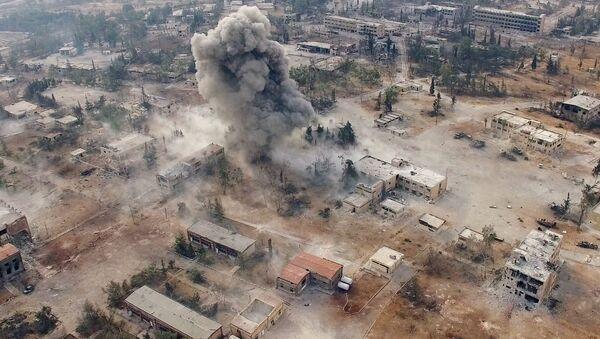 Alepo pilsēta. Foto no arhīva - Sputnik Latvija