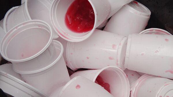 Пластиковая посуда - Sputnik Латвия