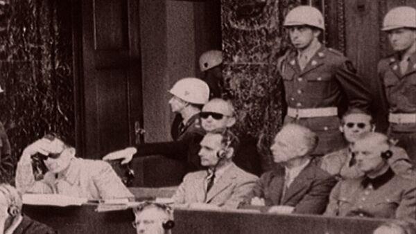 Возмездие. Суд народов в Нюрнберге в архивных кадрах - Sputnik Латвия