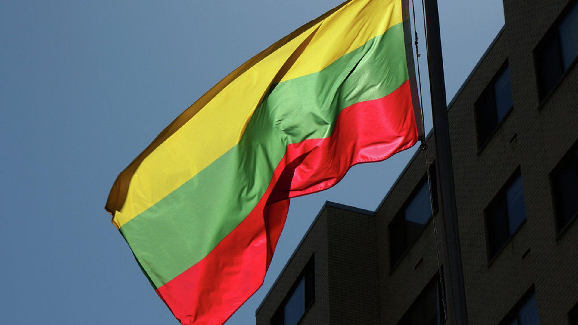 Литовский флаг - Sputnik Латвия, 1920, 07.07.2021