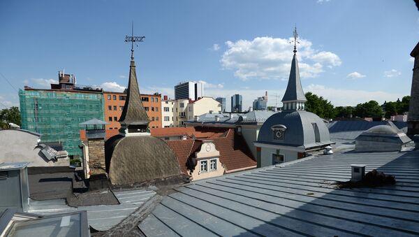 Крыши Старого города в Таллине - Sputnik Латвия