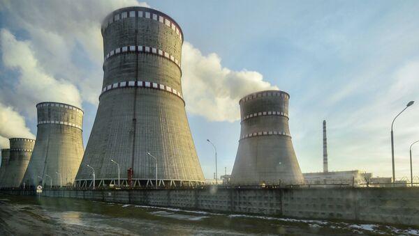 Ровненская атомная электростанция в Кузнецовске - Sputnik Латвия