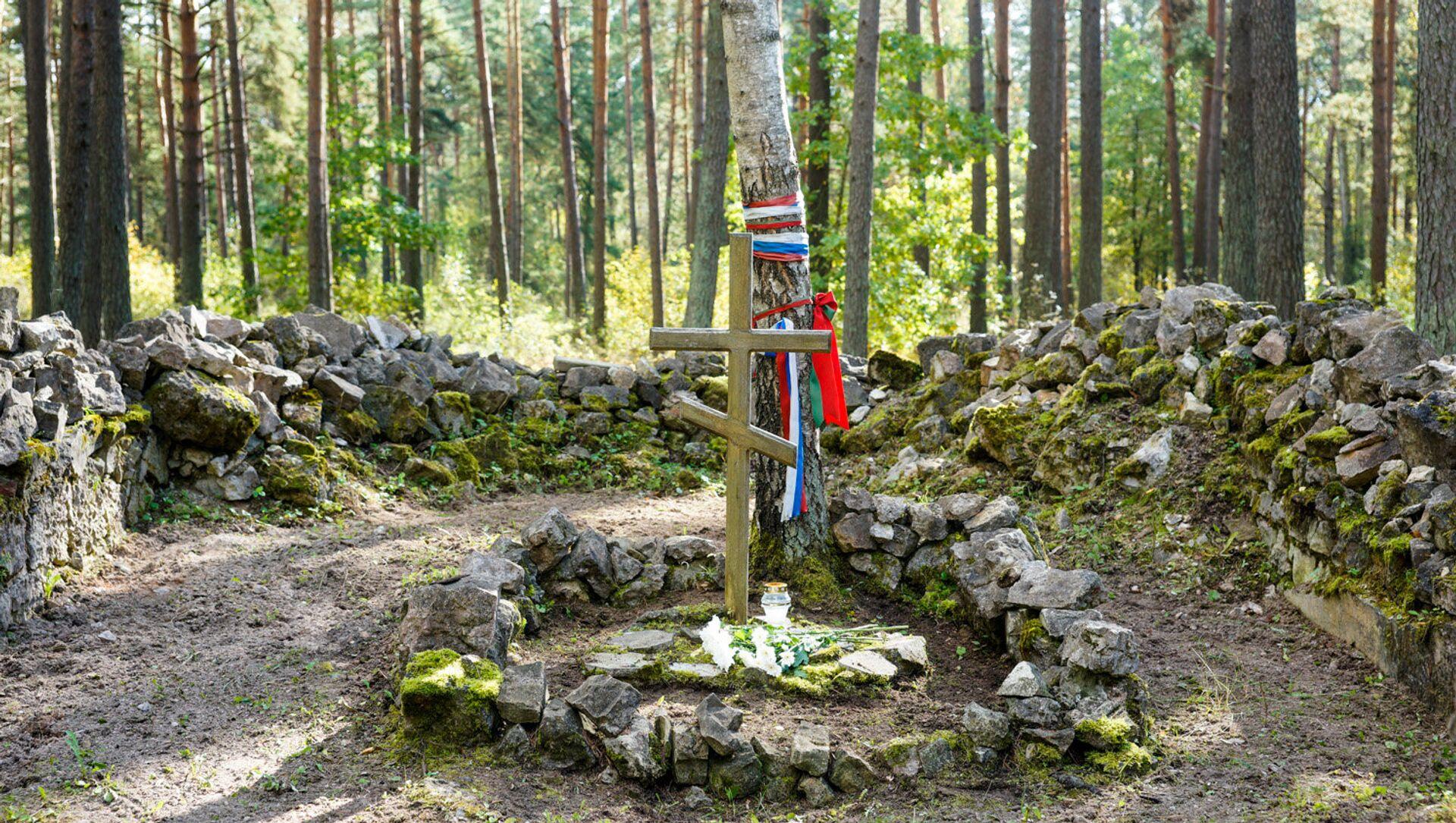 Православное гарнизонное кладбище в Саласпилсе - Sputnik Latvija, 1920, 10.05.2021