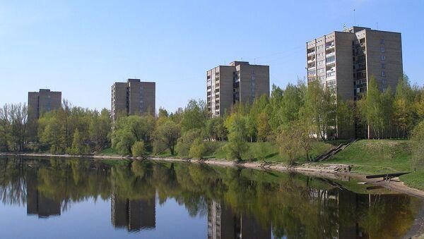 Видземская аллея в микрорайоне Югла - Sputnik Latvija