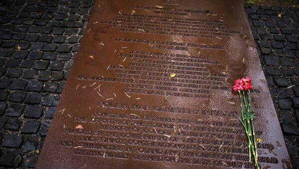 Polijas karavīru kapi Katiņā - Sputnik Latvija