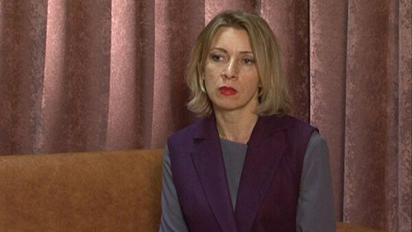 Захарова прокомментировала заявление Пауэр о варварстве России в Сирии - Sputnik Latvija
