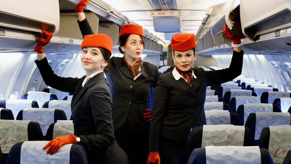 Первый рейс авиакомпании Вим Авиа  - Sputnik Latvija