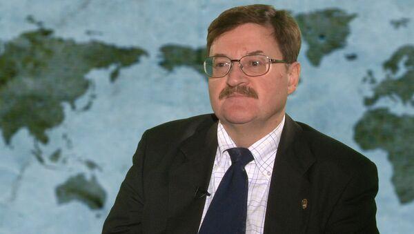 Главный советник Российского института стратегических исследований Владимир Козин - Sputnik Латвия