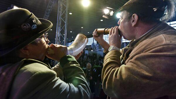 Чемпионат по оленьему рёву - Sputnik Латвия