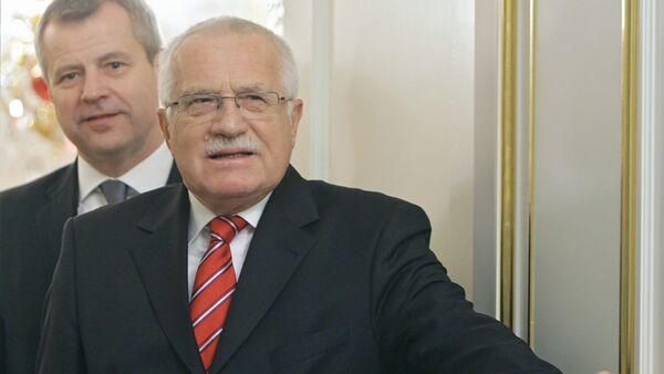Vaclav Klaus - Sputnik Latvija