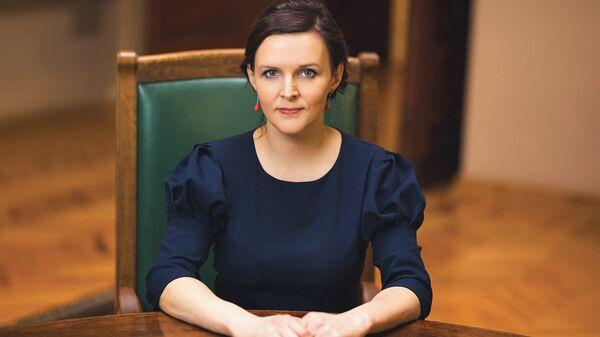 Депутат Сейма Латвии Юлия Степаненко - Sputnik Латвия