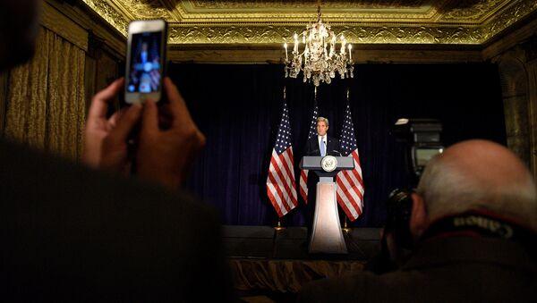 Государственный секретарь США Джон Керри - Sputnik Латвия