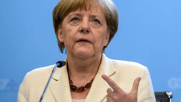 Канцлер Германии Ангела Меркель - Sputnik Латвия