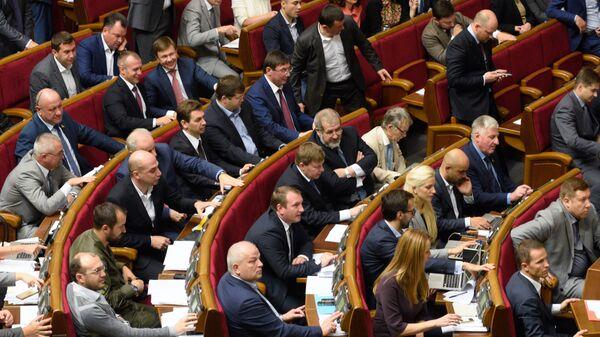 Заседание Верховной Рады Украины - Sputnik Latvija