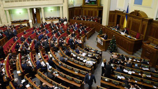 Заседание Верховной Рады Украины - Sputnik Латвия