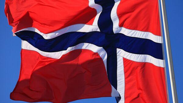 Флаг Норвегии. - Sputnik Latvija
