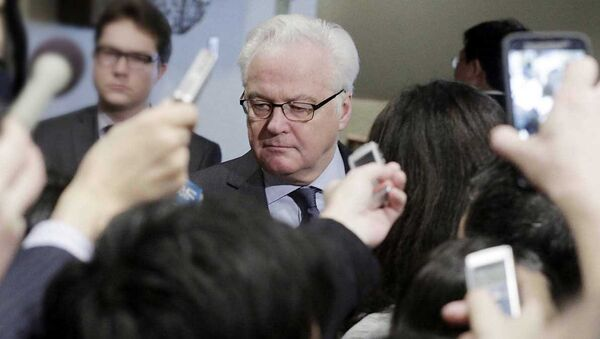 Постоянный представитель России при ООН Виталий Чуркин - Sputnik Латвия