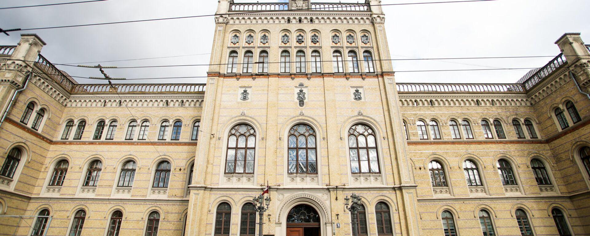 Latvijas universitātes galvenā ēka - Sputnik Latvija, 1920, 27.09.2021