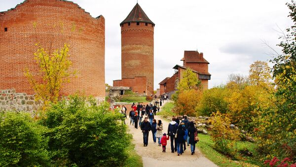Сигулда, Турайдский замок - Sputnik Latvija