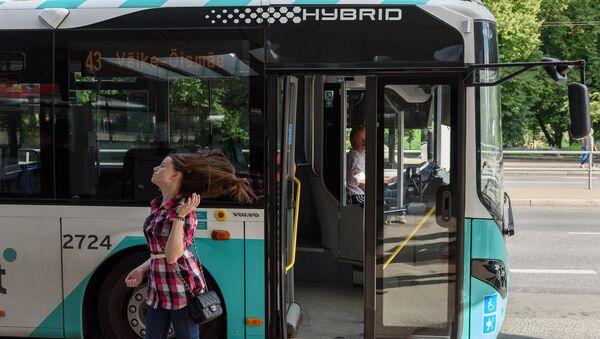 Autobuss Tallinā. Foto no arhīva - Sputnik Latvija