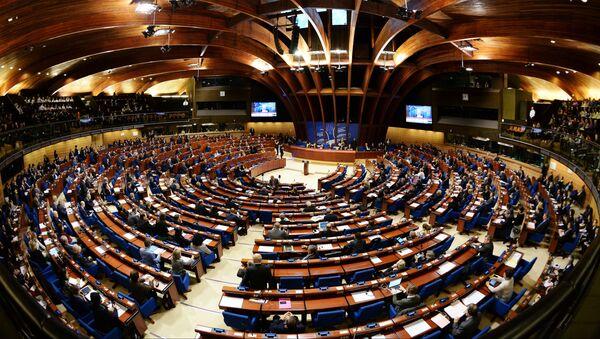 Парламентская ассамблея Совета Европы в Страсбурге - Sputnik Latvija
