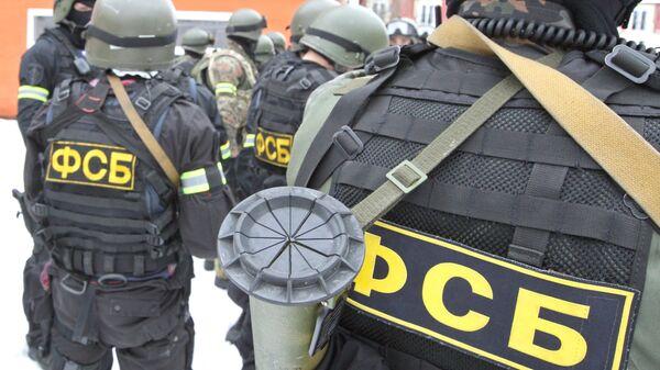 Сотрудники подразделений специального назначения - Sputnik Латвия