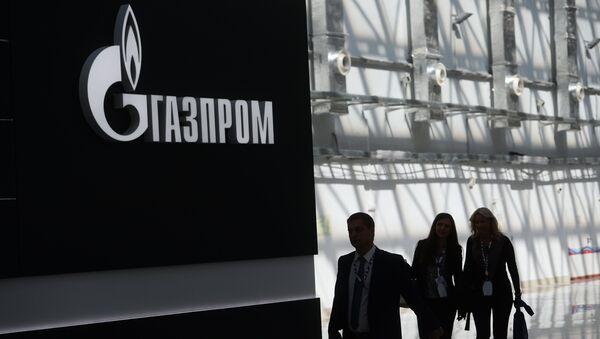 Логотип компании Газпром - Sputnik Латвия