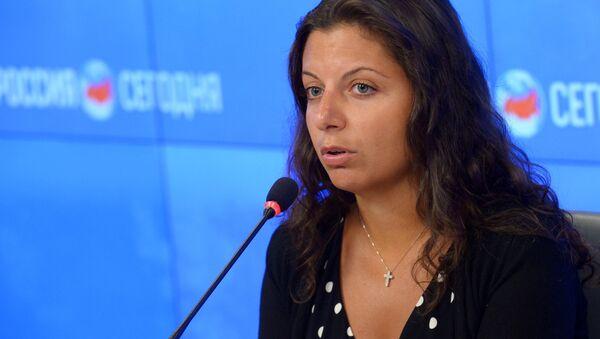 Главный редактор телеканала RT Маргарита Симоньян - Sputnik Latvija