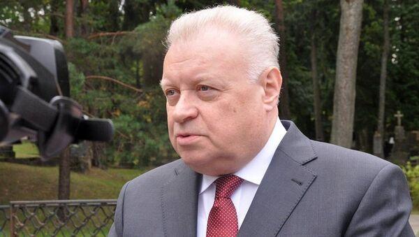 Посол РФ в Литве Александр Удальцов - Sputnik Латвия