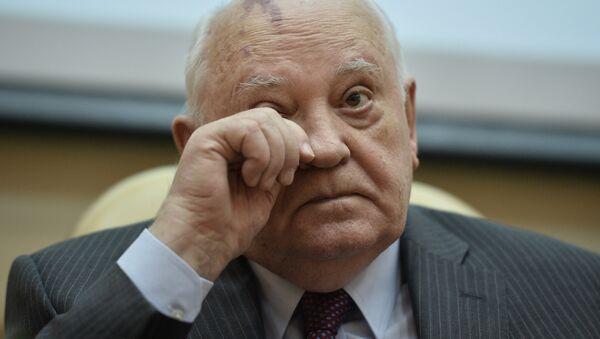 Михаил Горбачев - Sputnik Латвия