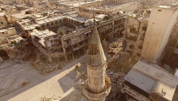 Восточные кварталы Алеппо - Sputnik Latvija