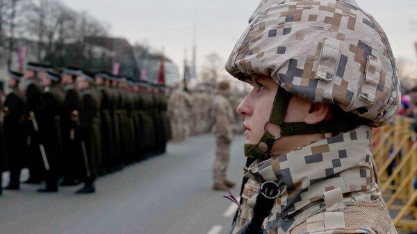 Солдат Латвийской армии - Sputnik Latvija