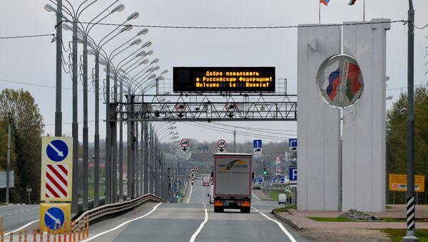 Граница Белоруссии и России - Sputnik Латвия