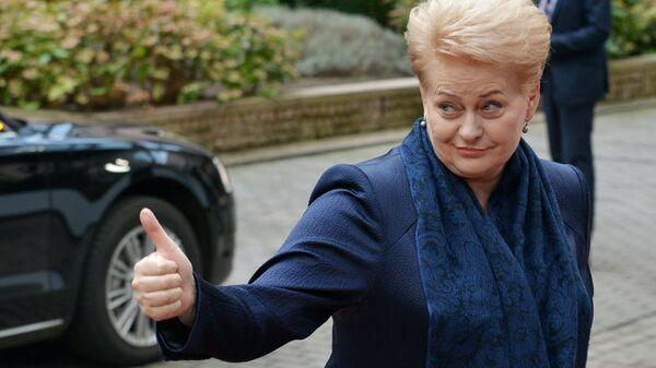 Lietuvas prezidente Daļa Grībauskaite - Sputnik Latvija