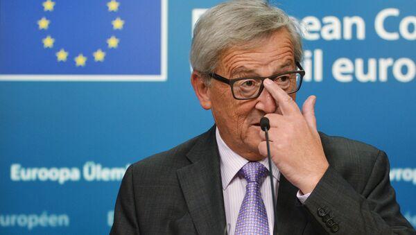 Председатель Европейской комиссии Жан-Клод Юнкер - Sputnik Латвия