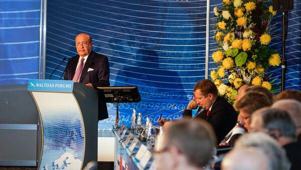 Экс-министр иностранных дел России Игорь Иванов на Балтийском форуме - Sputnik Латвия