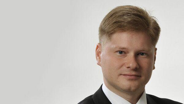 Депутат Сейма Латвии Сергей Потапкин - Sputnik Латвия