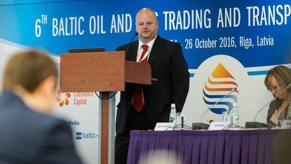 Юрис Попилс консультант по проектам СПГ - Sputnik Латвия